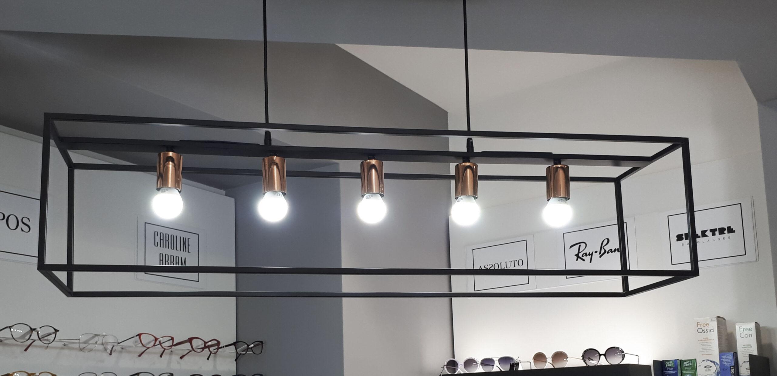 La luce nelle gioiellerie e nelle ottiche